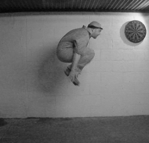 Demonstration of the Tuck Jump exercise.