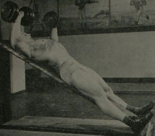 George Eiferman demonstrating the Incline Dumbbell Press exercise