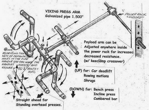 Power rack attachment apparatus that can be used for multiple weight-training exercises, including presses and rows.